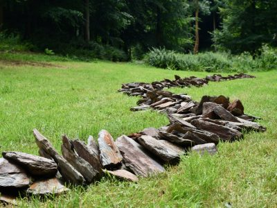 Richard Long credit Jon England Hestercombe Gallery 30 June 2020 DSC 7951 i