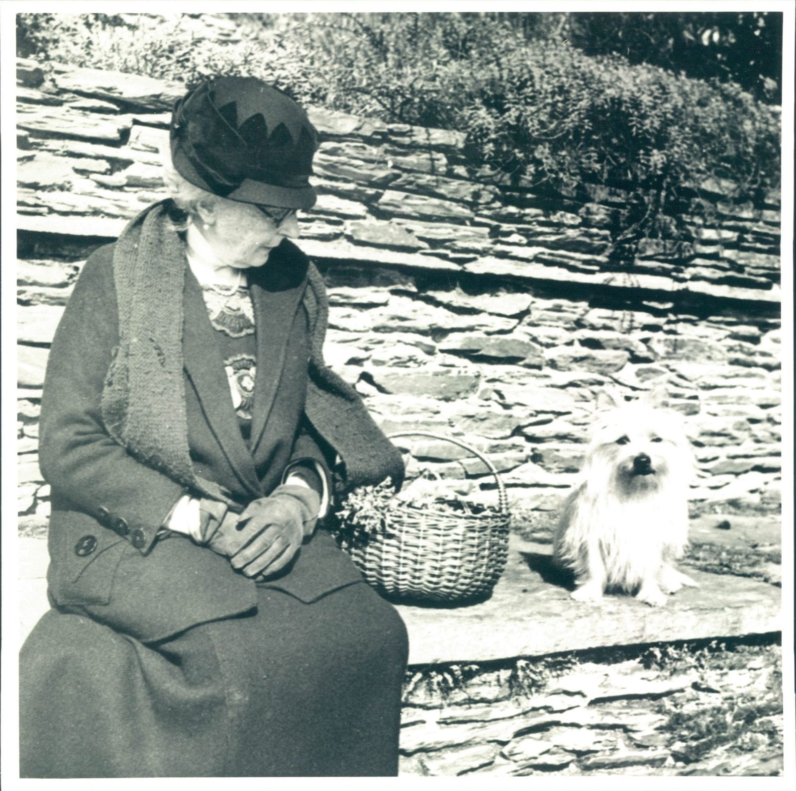 Mrs Portman with her dog, we celebrate the history of women at Hestercombe
