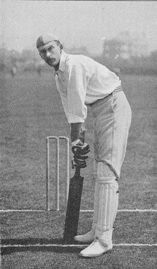 Cricketer Lionel Charles Hamilton Palairet, who attended Hestercombe's Grand Ball of 1897