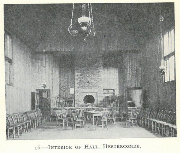 Fig. 1 The Hestercombe Reading Room - domestic servants