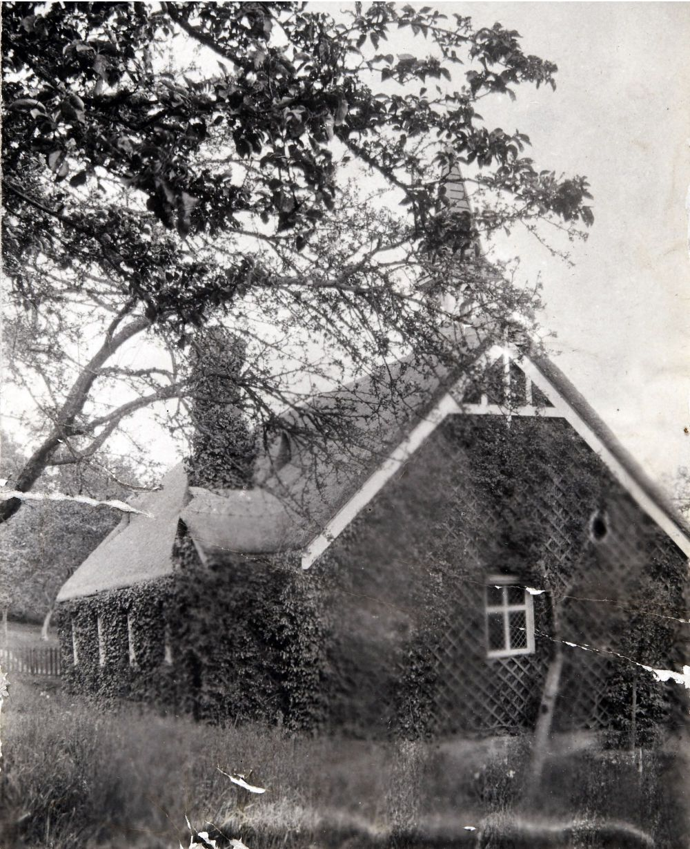 Fig. 4 – St Mary's Church Hestercombe (built 1895) - domestic servants