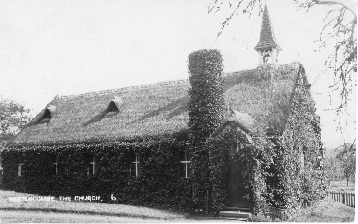 Fig. 2 Church of St. Mary's Church Hestercombe c.1908 - Hestercombe Archives