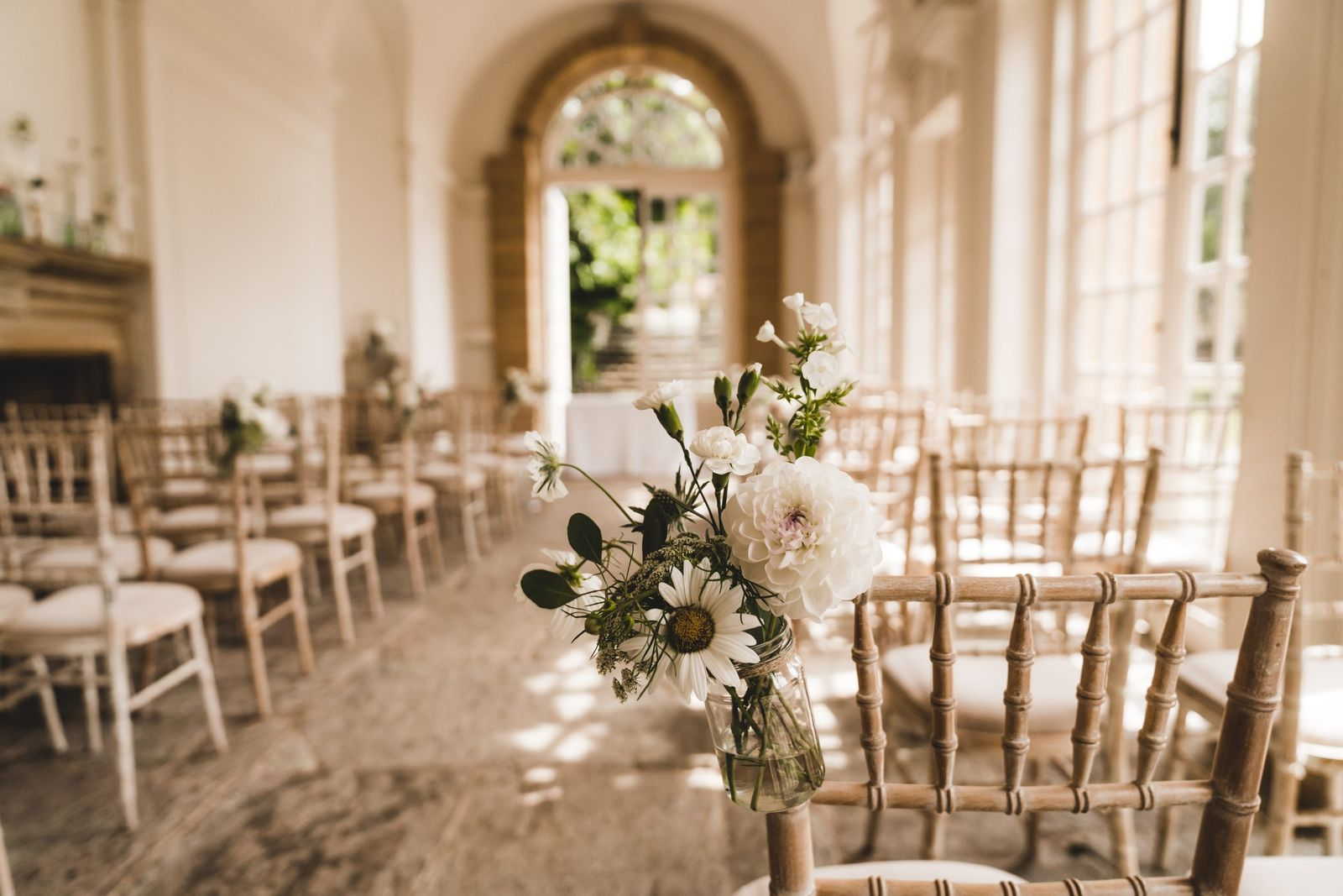 Beautiful Orangery at Hestercombe - one of the most enchanting affordable wedding venues in Somerset