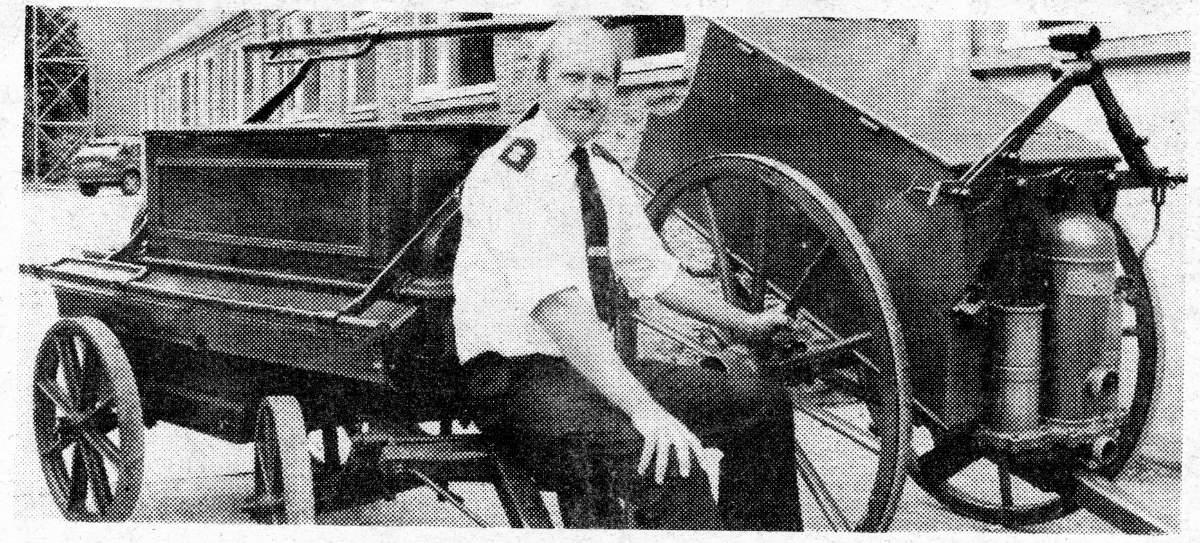 Fig. 16 Station Officer Terry Sidley 1990_somerset fire brigade-hestercombe