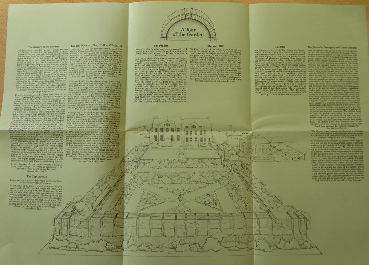 Fig. 18 Guidebook, 'Hestercombe House & Garden' 1980_somerset fire brigade-hestercombe