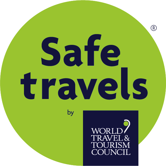 Safe Travels - Hestercombe is accredited by the World Travel & Tourism Council