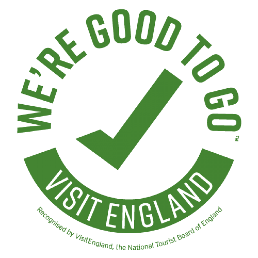 Hestercombe has been accredited by Visit Britain's Good to Go scheme